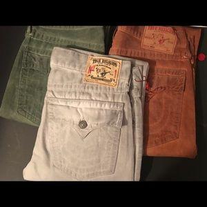"""ALL 3 .....Men True Religion Jeans   """"RICKY"""""""